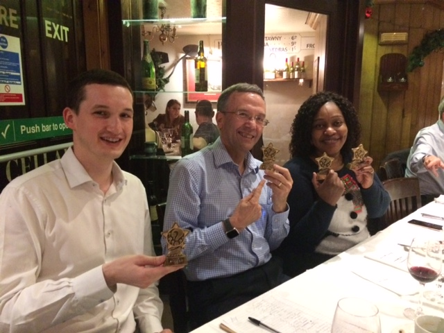 Well done Donald, Bob and Mary for winning the 2019 Christmas Quiz!